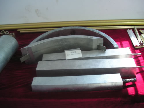 Zinc Anode Sacrificial Zinc Anode China Cathodic Protection Device